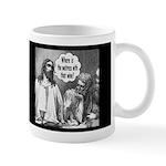 Jesus Wine Dark Mug