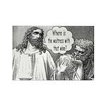 Jesus Wine Rectangle Magnet (100 pack)