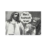 Jesus Wine Rectangle Magnet