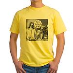 Jesus Wine Yellow T-Shirt