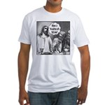 Jesus Wine Fitted T-Shirt