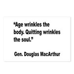 MacArthur Quitting Quote Postcards (Package of 8)
