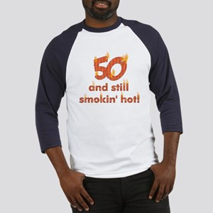 Hot Smokin' and Fifty Baseball Jersey