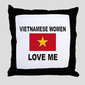 Vietnamese Love Me Throw Pillow