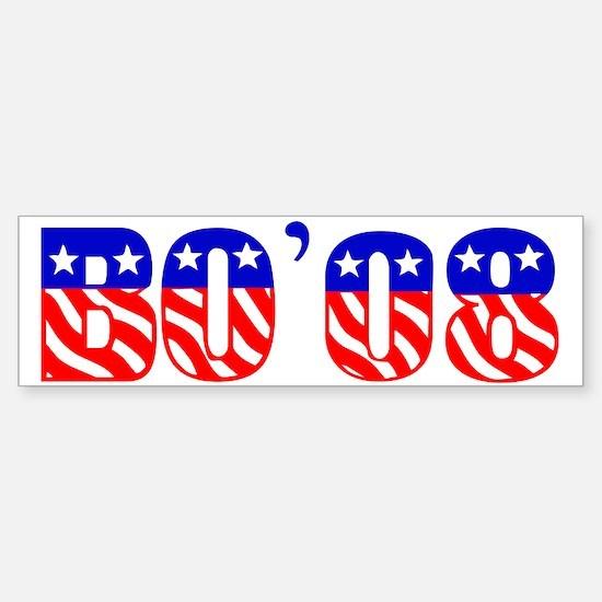 BO'08 Bumper Bumper Bumper Sticker