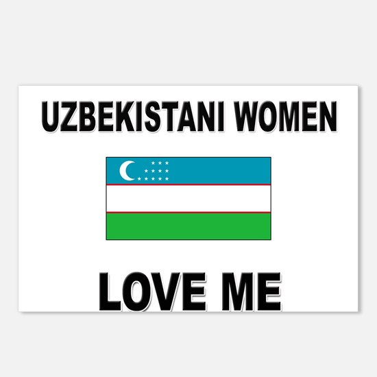 Uzbekistani Love Me Postcards (Package of 8)