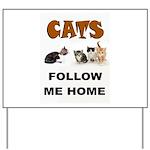 CATS Yard Sign
