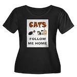 CATS Plus Size T-Shirt