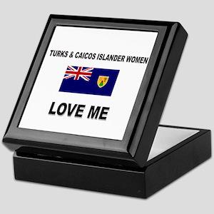 Turks & Caicos Islander Love Me Keepsake Box
