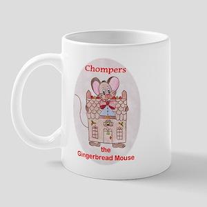 Chompers Gingerbread Mouse Mug
