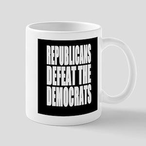 Republicans Defeat The Democrats Mugs