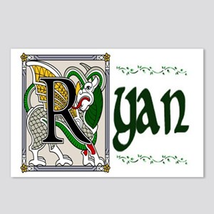 Ryan Celtic Dragon Postcards (Package of 8)