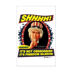 Freedom Silence Posters