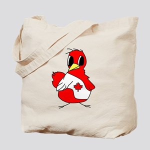 Lg Canadian Chick Tote Bag