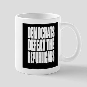 Democrats Defeat The Republicans Mugs