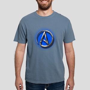 Atheist Logo (blue) T-Shirt