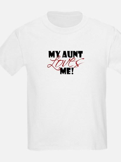 my aunt loves me T-Shirt
