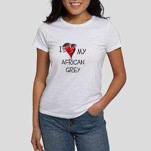 I love my African Grey Women's T-Shirt
