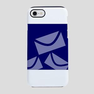 Navy Blue Envelopes iPhone 8/7 Tough Case