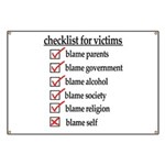 Checklist For Victims Banner