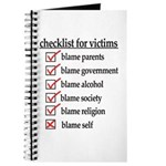 Checklist For Victims Journal