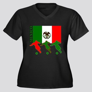 Mexico Soccer Plus Size T-Shirt