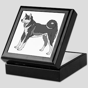 Akita dog Keepsake Box