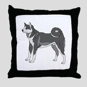 Akita dog Throw Pillow