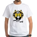 Laurie Family Crest White T-Shirt