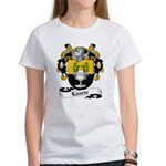 Laurie Family Crest Women's T-Shirt