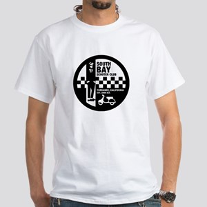 South Bay SC (Ska) Logo White T-Shirt