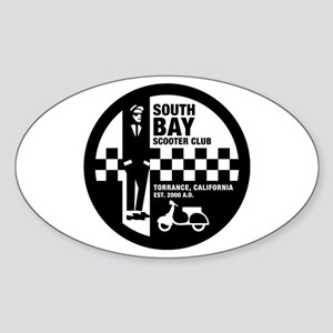 South Bay Sc (ska) Logo Oval Sticker