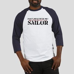 dontmess_sailor Baseball Jersey