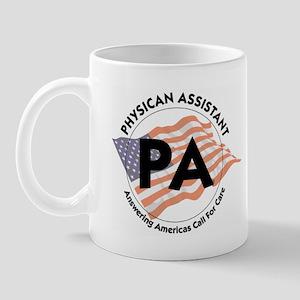 Patriotic Physician Assistant Mug