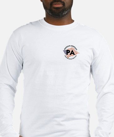 Patriotic Physician Assistant Long Sleeve T-Shirt