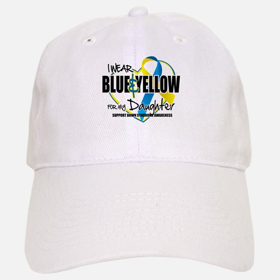 Blue & Yellow for Daughter Baseball Baseball Cap