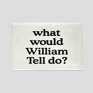 William Tell Rectangle Magnet