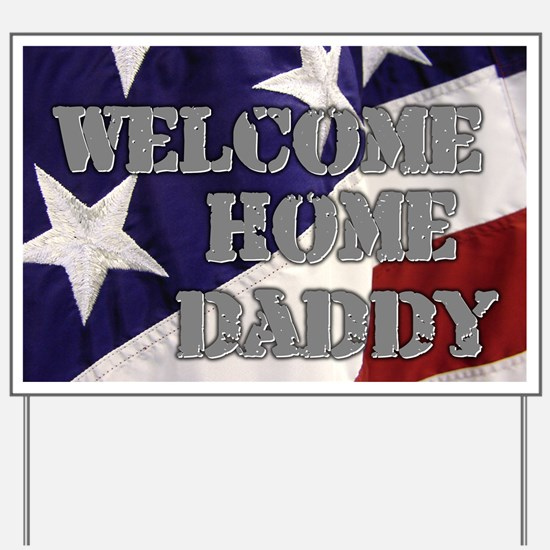 Unique Welcome home my hero Yard Sign