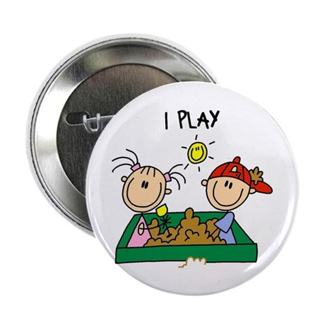 """I Play 2.25"""" Button"""