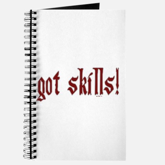 got skills! Journal