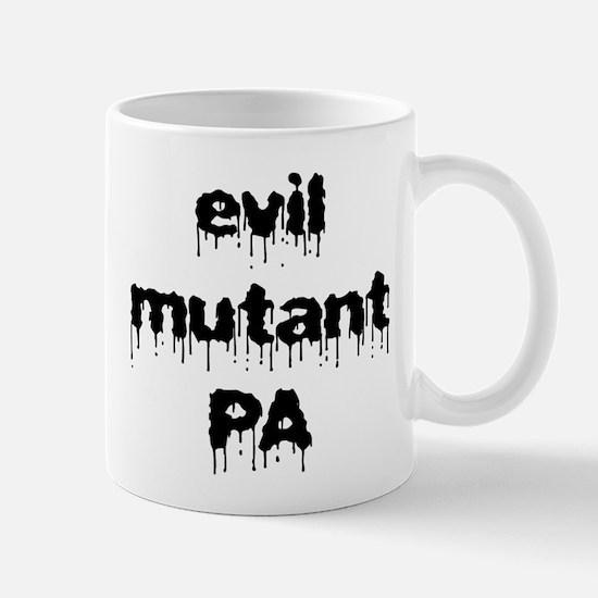 Evil mutant PA Mug