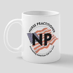 Patriotic Nurse Practitioner Mug