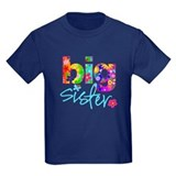 Big sister Kids T-shirts (Dark)