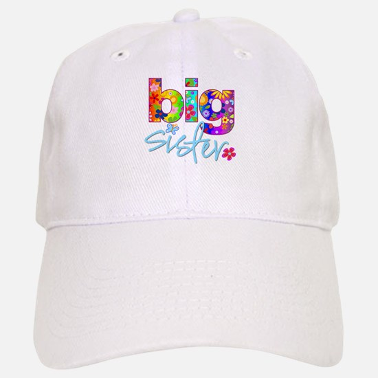big sister t-shirt flower Baseball Baseball Cap