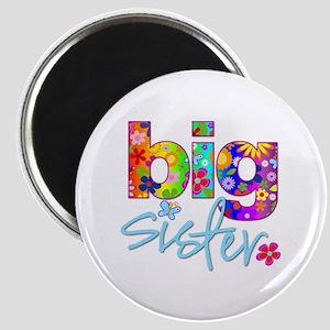 big sister t-shirt flower Magnet