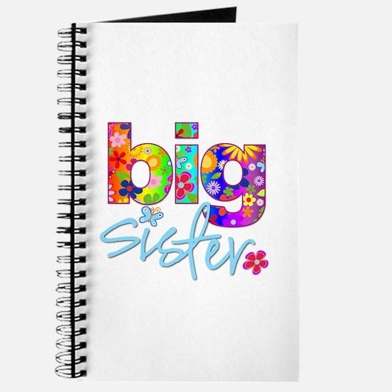 big sister t-shirt flower Journal