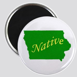 "Iowa Native 2.25"" Magnet (10 pack)"