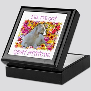 Goat Attitude! Keepsake Box