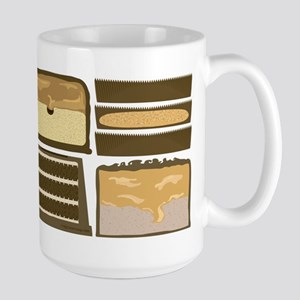 Candybar CrossSection Large Mug