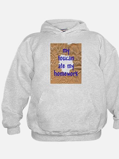 My Toucan Ate My Homework Hoodie